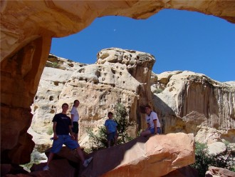 THinkgs for kids to do in Capitol Reef