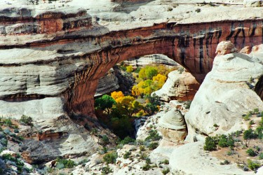 Natural Bridges in Arches National Park
