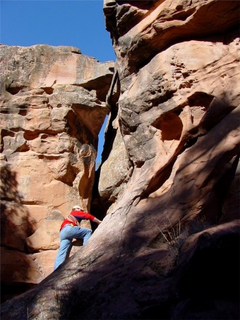 Rock Climbing in Arches National Park