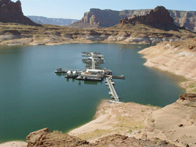 Dangling Rope Marina |Dangling Rope Marina Lake Powell | Forbidden Canyon Lake Powell