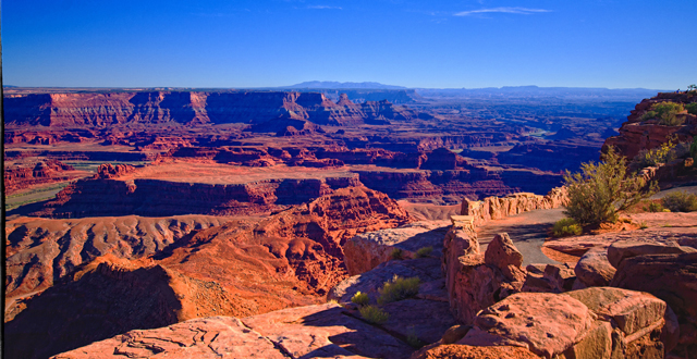 Dead Horse Point, at Canyonlands, Moab Utah By Vada0202