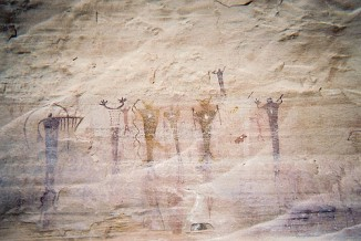 Pictographs in Bryce Canyon