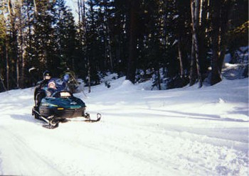 Winter Sports near Lake Powell