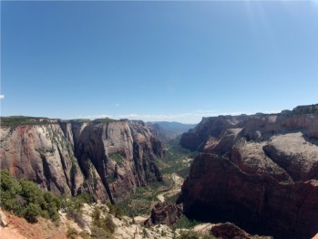Hiking the Observation Point Trail