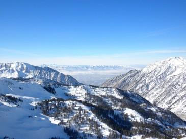 Skiiing in Salt Lake City