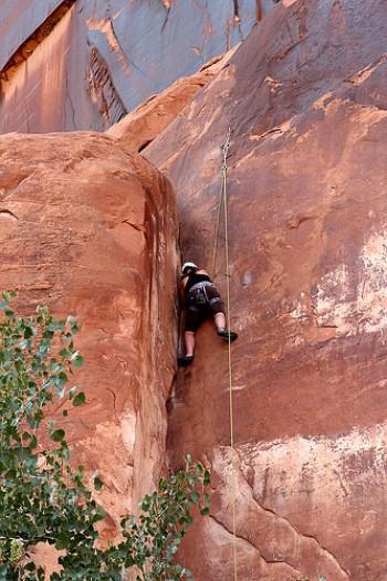 Rock Climbing in Moab